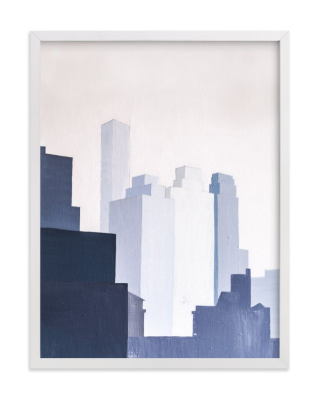View from York Ave. Art Print