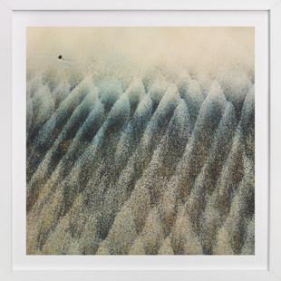 Wave Trees Art Print