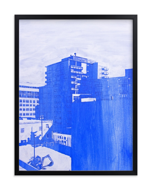 """""""Blow Out Denver"""" - Limited Edition Art Print by Jeff Preuss in beautiful frame options and a variety of sizes."""