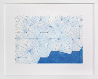 Indigo Wanderlust Art Print