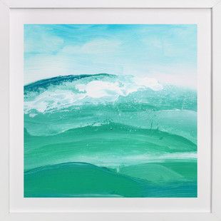 Sea Wall Art Print