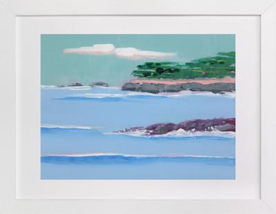 Pebble Beach Art Print