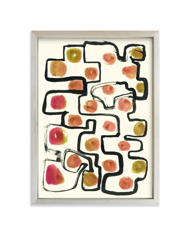 """""""Plainful"""" - Limited Edition Art Print by Bethania Lima in beautiful frame options and a variety of sizes."""