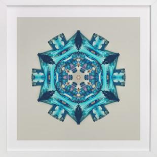 Blue Moon Room Art Print