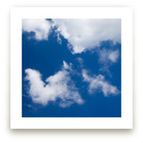 Blue Sky with Clouds by Carol Schiraldi
