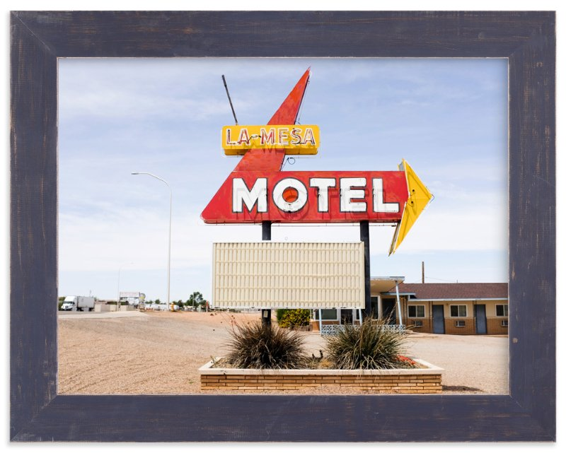 """""""Motel"""" - Limited Edition Art Print by Andrea Ament in beautiful frame options and a variety of sizes."""