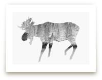 Silver Moose by Laura Morris