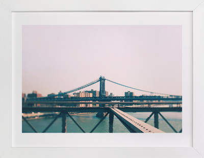 Bridges Of New York #8 Art Print