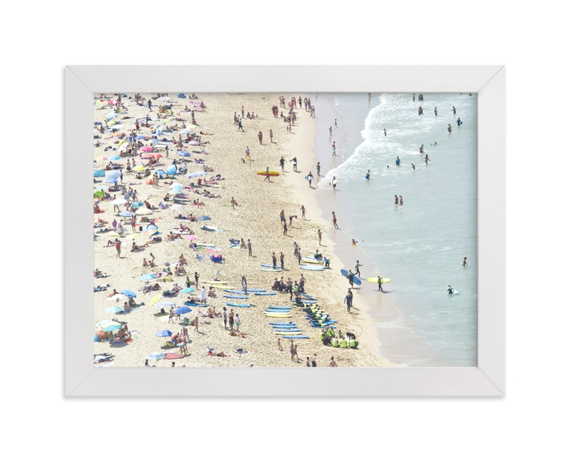 """""""Endless summer"""" - Limited Edition Art Print by Susanna Nousiainen in beautiful frame options and a variety of sizes."""
