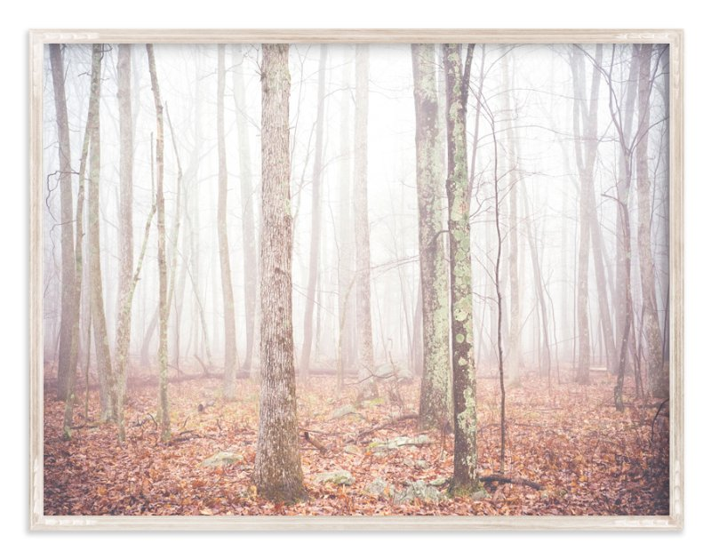 """Foggy Forest"" - Limited Edition Art Print by Smile Peace Love in beautiful frame options and a variety of sizes."