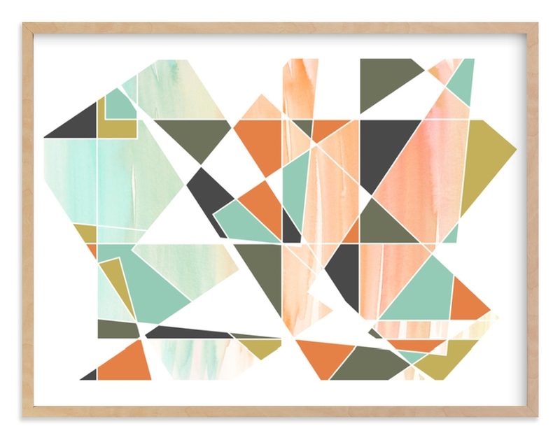 """Apertures No. 5"" - Limited Edition Art Print by Genna Cowsert in beautiful frame options and a variety of sizes."