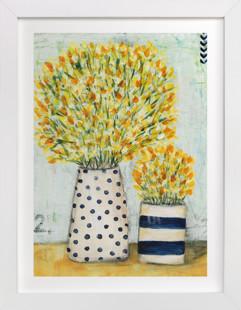 Cottage Bloom Art Print