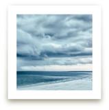 Blue Beach Storm