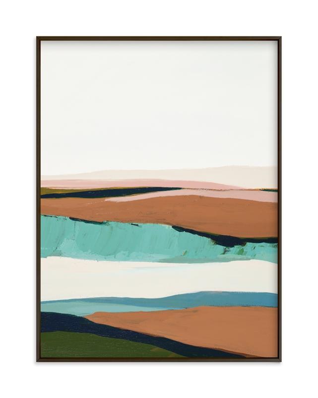 California Seascape Art Print