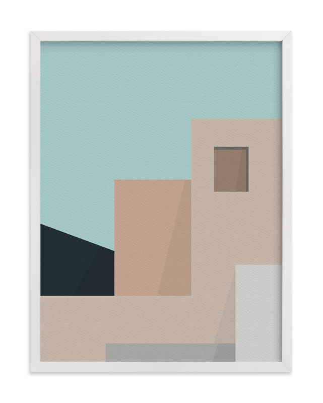 """""""Urbanscape 02"""" - Limited Edition Art Print by Jennifer Morehead in beautiful frame options and a variety of sizes."""