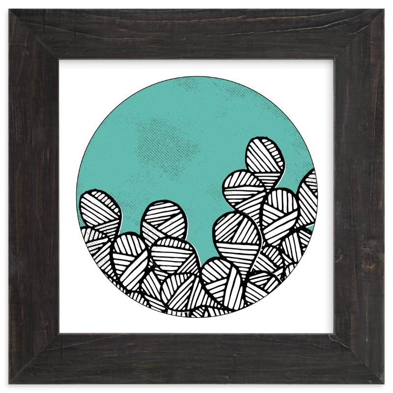 """""""Patterned Cactus"""" - Limited Edition Art Print by Maria Hilas Louie in beautiful frame options and a variety of sizes."""
