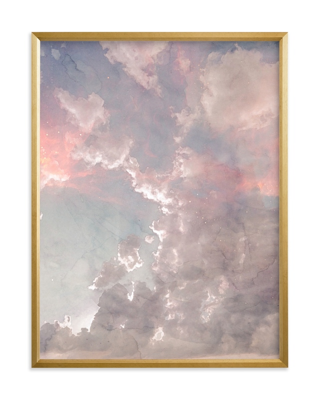 """""""Candy Sky"""" - Limited Edition Art Print by EMANUELA CARRATONI in beautiful frame options and a variety of sizes."""