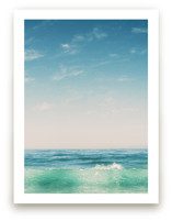Malibu Surf and Sky II Art Prints