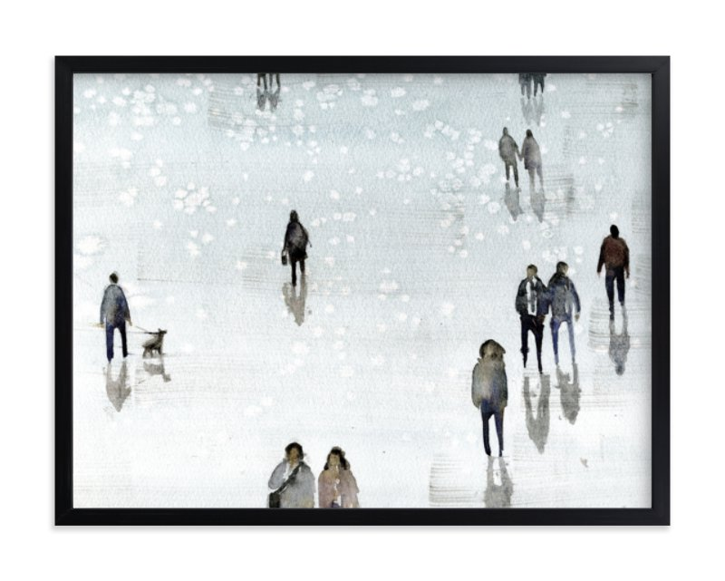 """""""Melancolia"""" - Limited Edition Art Print by Lulaloo in beautiful frame options and a variety of sizes."""