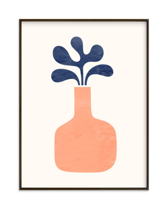 """""""Modern Vase #1"""" - Limited Edition Art Print by Field and Sky in beautiful frame options and a variety of sizes."""