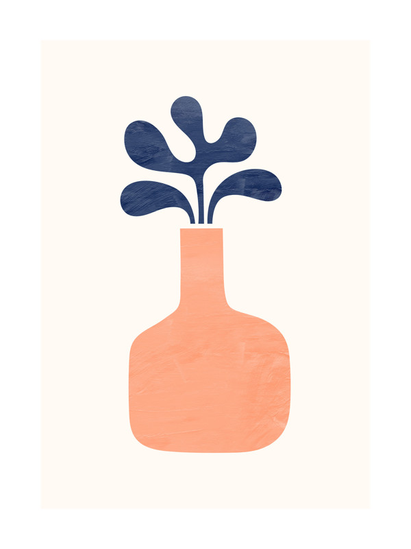 Modern Vase 1 Wall Art Prints By Field And Sky Minted
