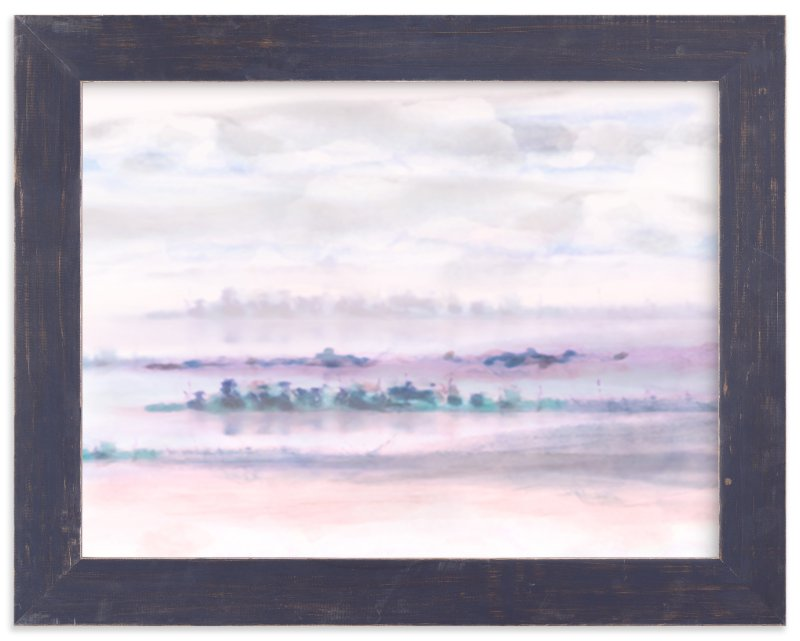 """""""Peninsula"""" - Limited Edition Art Print by Grace Kreinbrink in beautiful frame options and a variety of sizes."""