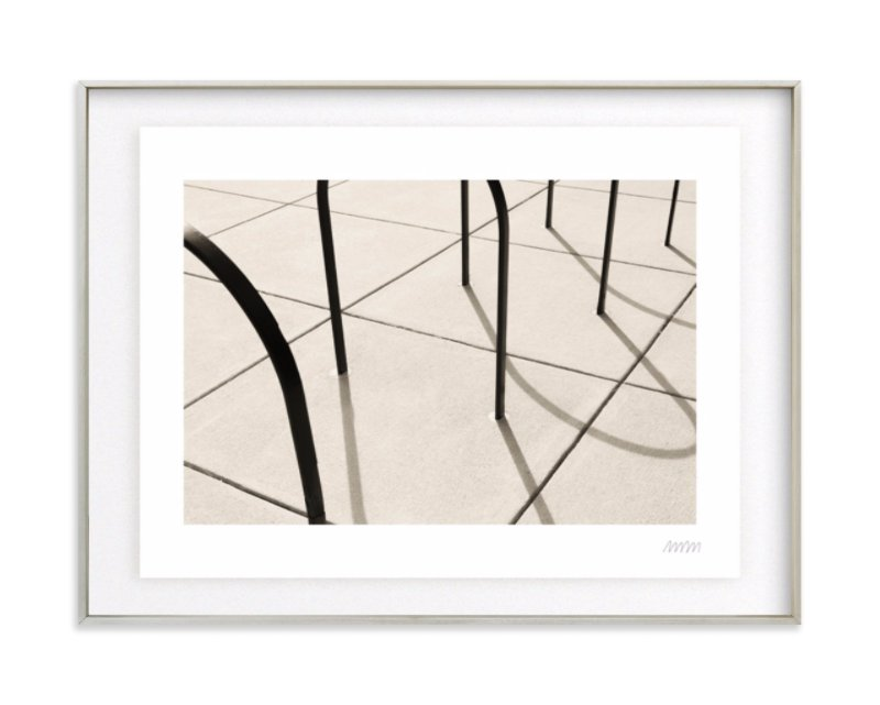 Curves and Lines Art Print
