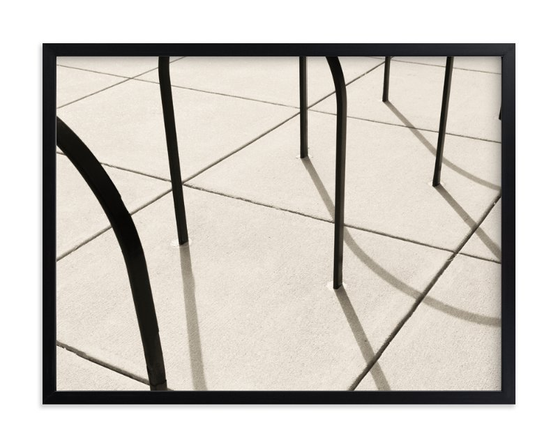 """""""Curves and Lines"""" - Limited Edition Art Print by megan monismith in beautiful frame options and a variety of sizes."""