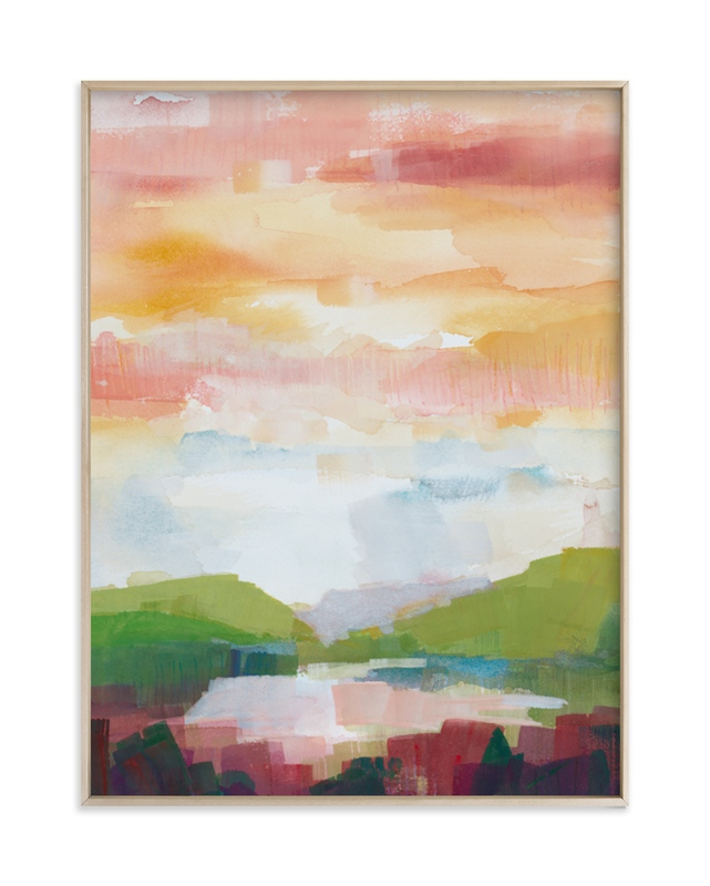 """""""Leaving Ojai"""" - Limited Edition Art Print by sue prue in beautiful frame options and a variety of sizes."""