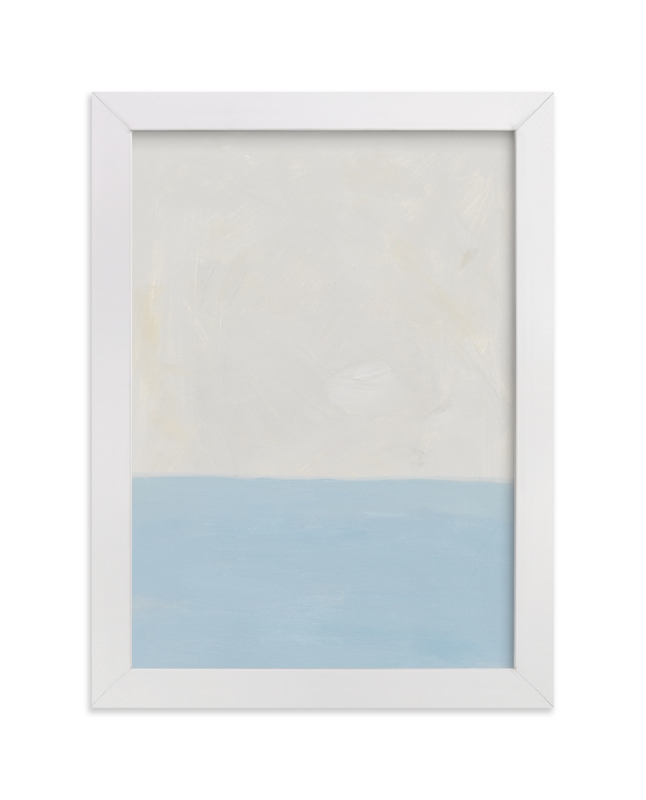 """""""Calm At Sea"""" - Limited Edition Art Print by Amanda Phelps in beautiful frame options and a variety of sizes."""