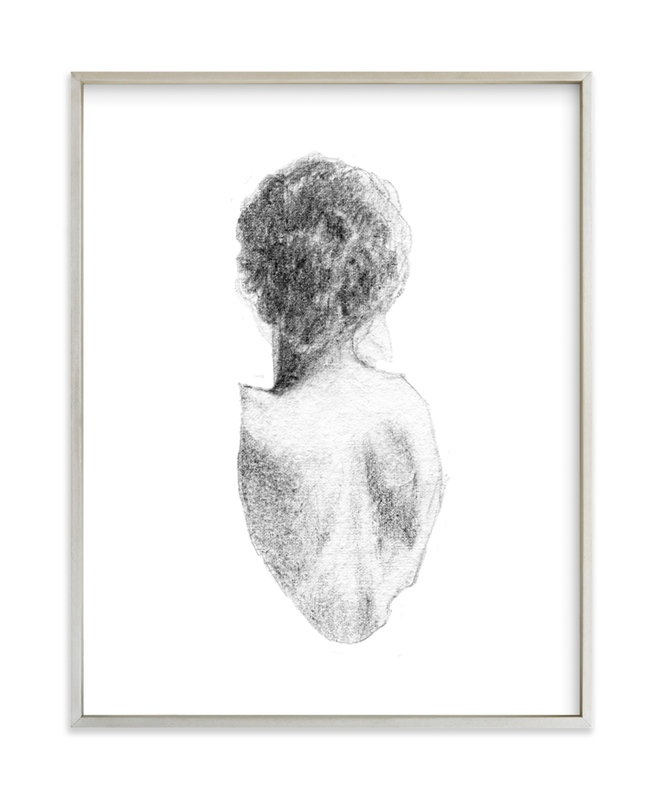 Figure Drawing No.17 Art Print