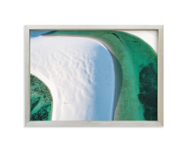"""""""The Emerald Lagoon"""" - Limited Edition Art Print by Benno and Noosa in beautiful frame options and a variety of sizes."""