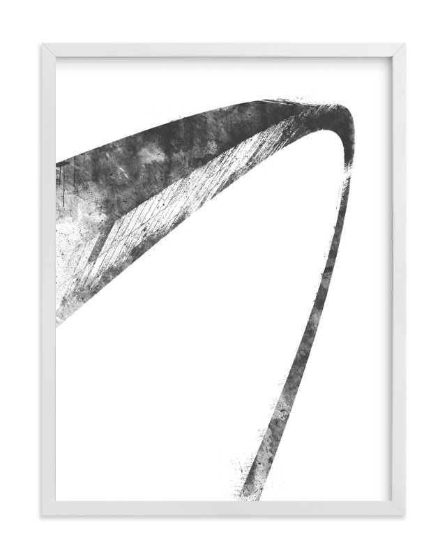 """""""St. Louis Arch"""" - Limited Edition Art Print by Paul Berthelot in beautiful frame options and a variety of sizes."""