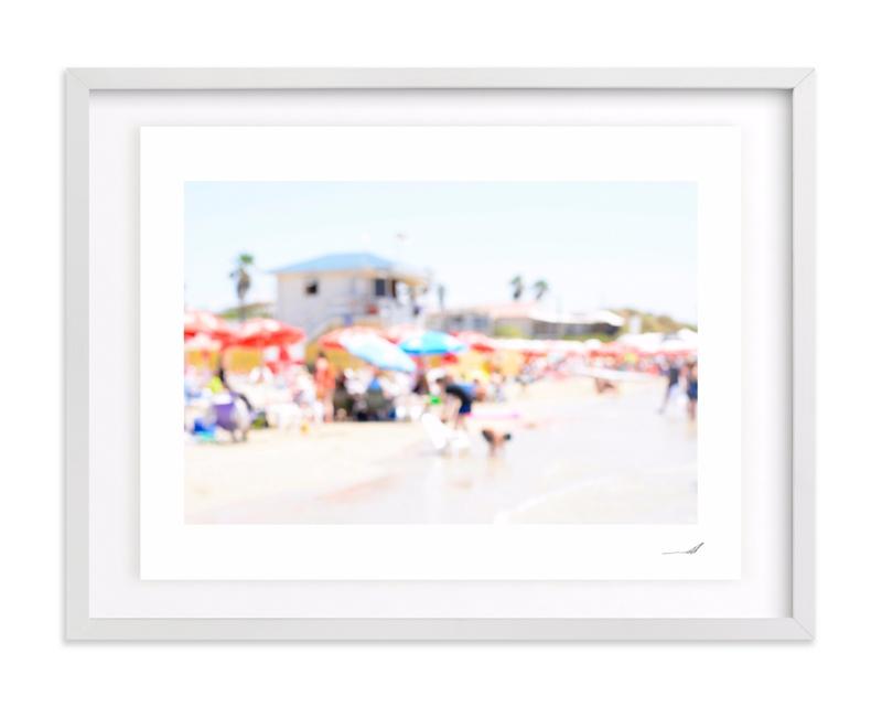 Seaside 2017 No. 13 Art Print