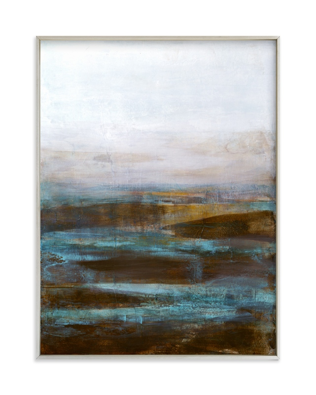 """Tranquil Pools"" - Limited Edition Art Print by Melissa Marquardt in beautiful frame options and a variety of sizes."