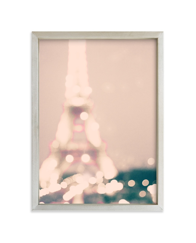 """Glittery & Romantic"" - Limited Edition Art Print by Caroline Mint in beautiful frame options and a variety of sizes."