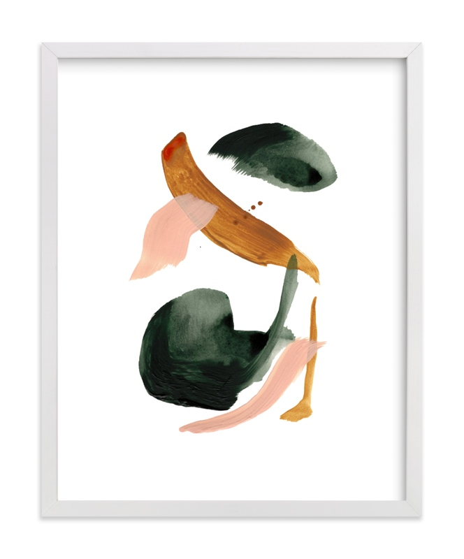 """Calm Forest No.18"" - Limited Edition Art Print by Cait Courneya in beautiful frame options and a variety of sizes."