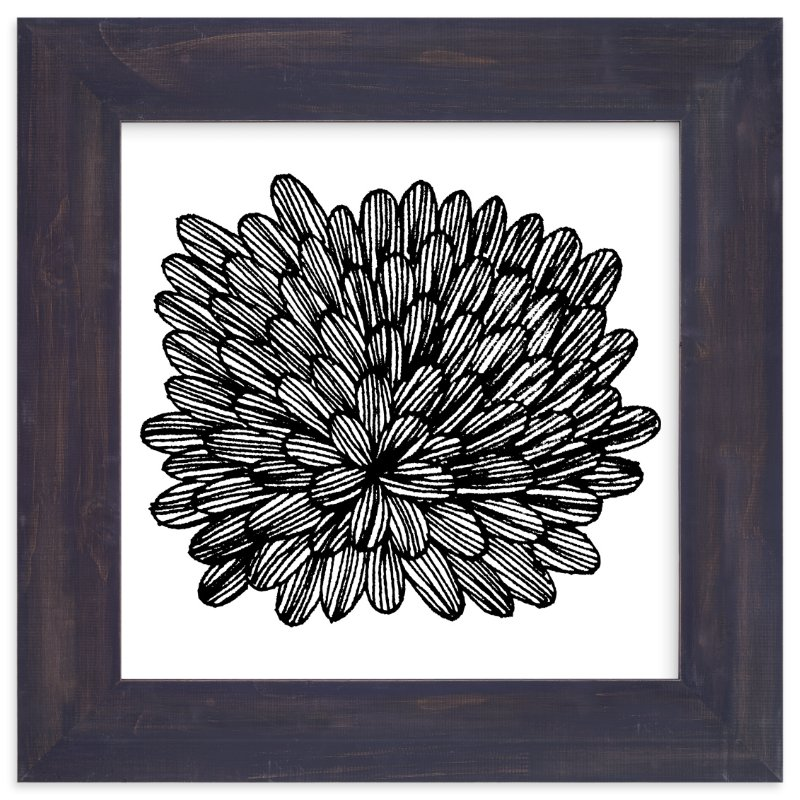 """eccentric leaves"" - Limited Edition Art Print by aticnomar in beautiful frame options and a variety of sizes."