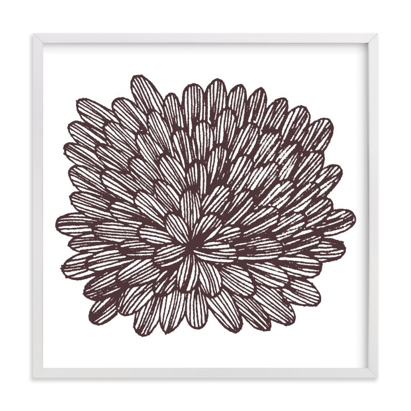 This is a brown art by aticnomar called eccentric leaves with standard.