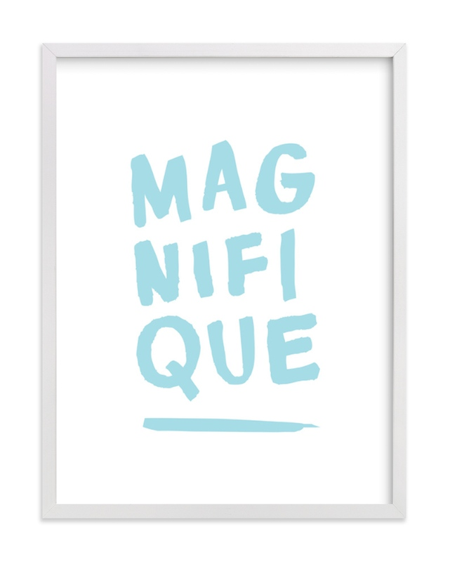 """Magnifique"" - Limited Edition Art Print by Marabou Design in beautiful frame options and a variety of sizes."