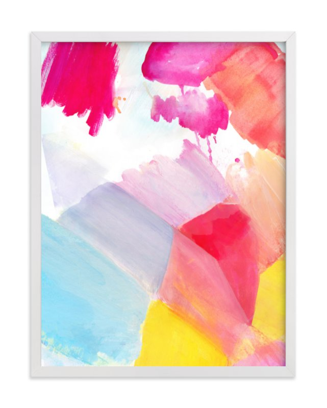"""""""Fragment 3"""" - Limited Edition Art Print by Hooray Creative in beautiful frame options and a variety of sizes."""