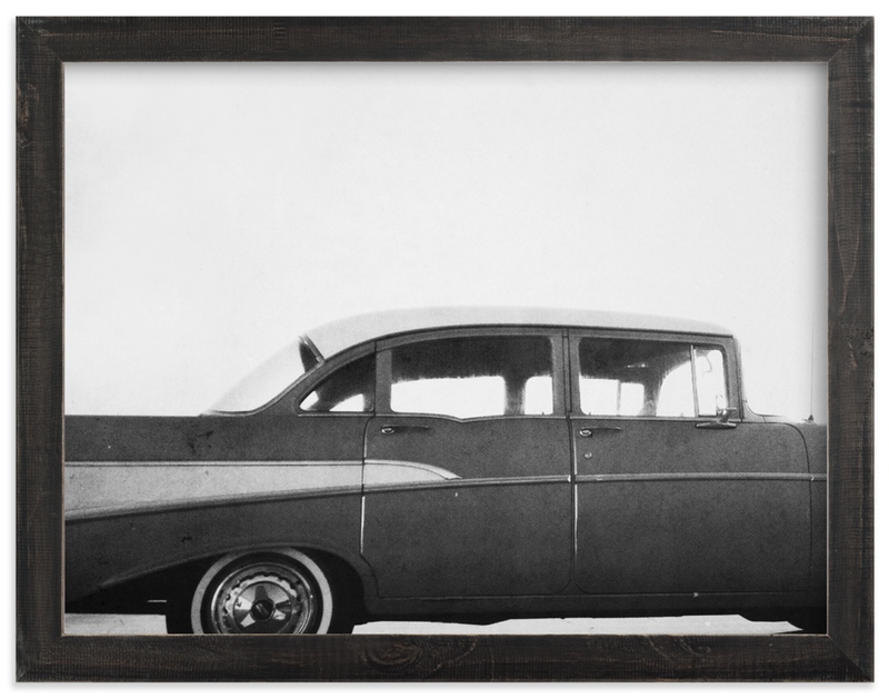 """Classic car."" - Limited Edition Art Print by Dawn Smith in beautiful frame options and a variety of sizes."