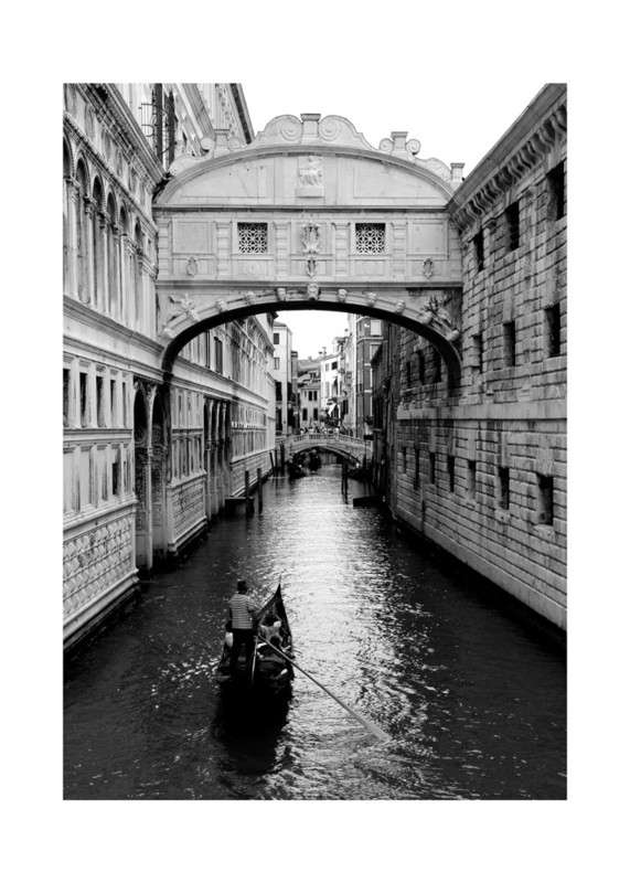 Bridge of Sighs Venice Wall Art Prints by Jessica Kimball | Minted