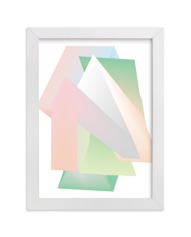 """""""Triangle Junction"""" - Limited Edition Art Print by Kisco Print Shop in beautiful frame options and a variety of sizes."""