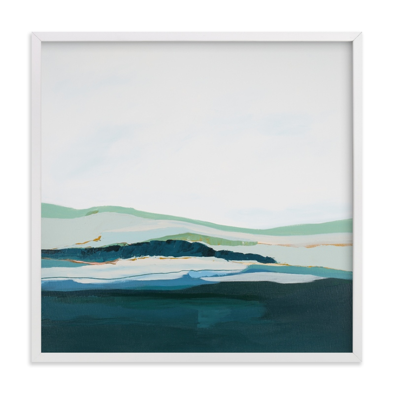 """""""Pacific Seascape"""" - Limited Edition Art Print by Caryn Owen in beautiful frame options and a variety of sizes."""