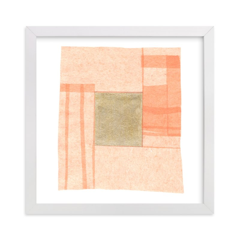 Abstract Muted 1 Mixed Media Limited Edition Art Print By Kelly Nasuta