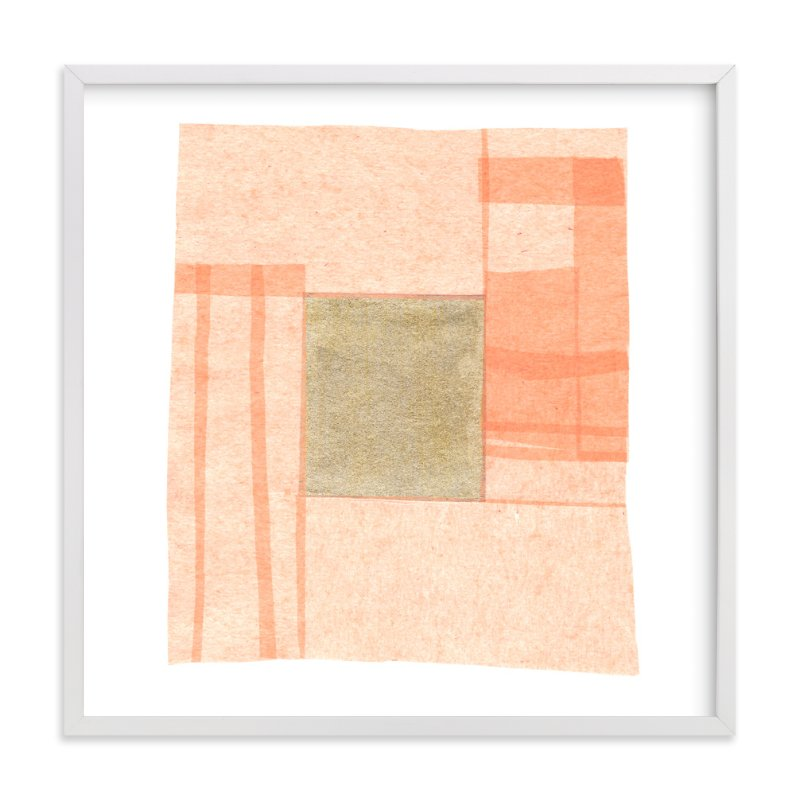 """Abstract Muted 1"" - Limited Edition Art Print by Kelly Nasuta in beautiful frame options and a variety of sizes."