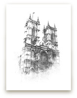 Westminster Abbey by Paul Berthelot