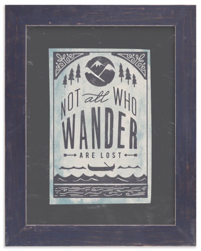 """""""Wander"""" - Limited Edition Art Print by Lori Wemple in beautiful frame options and a variety of sizes."""