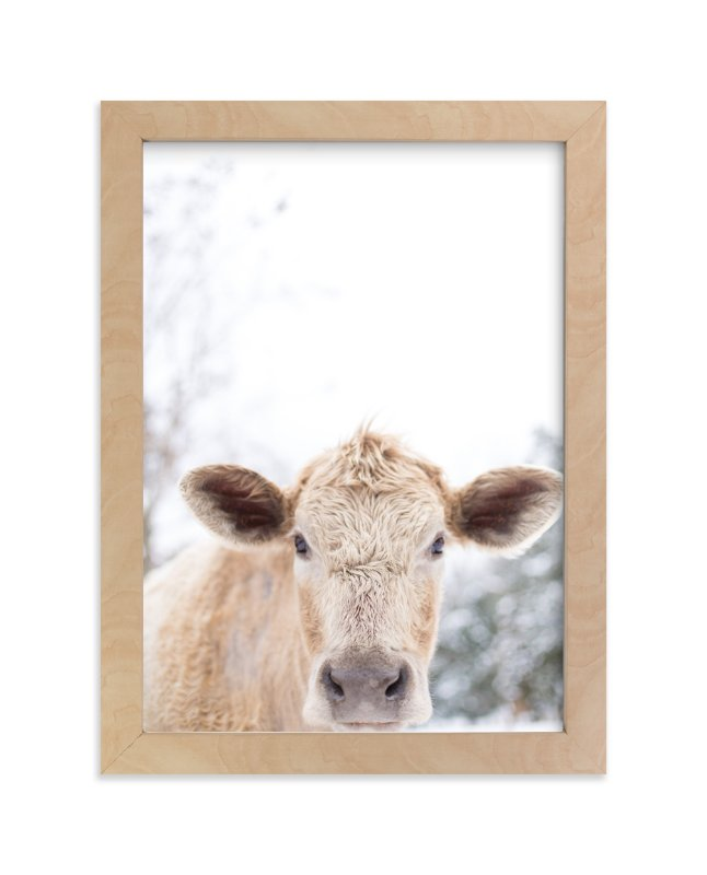 Moo Cow Wall Art Prints By Emily Gilbert Minted